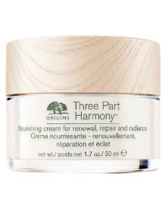 Origins three part harmony nourishing cream for renewal repair and radiance 50ml