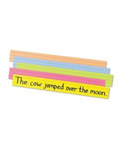 Pacon sentence strips 61x7,6cm 100 stk. mixfarvet