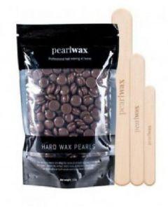 Pearl wax hard wax beans chocolate 100g