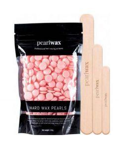 Pearl wax hard wax beans rose 100g