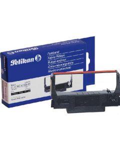 Pelikan farvebånd nylon 579755 13mm 5m black/rød for epson ERC 30/34