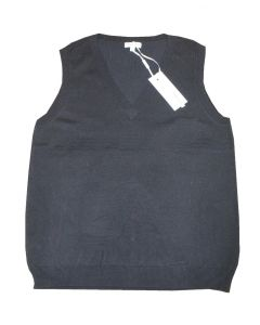 Peppercorn Strik Vest i Sort Str. Small
