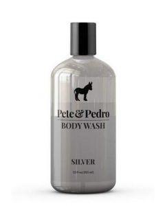 Pete & pedro body wash silver 355ml