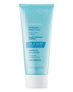 Pierre fabre ducray keracnyl foaming gel face and body 200ml