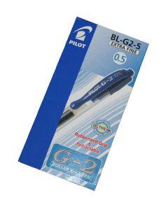 Pilot G-2 roller ball pen extra fine 0,5mm blue 12 stk.