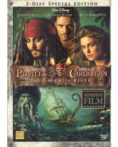 "Dvdfilm Pirates of the Caribbean 2 ""Special"""