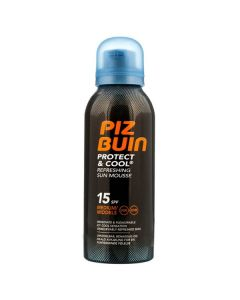 Piz buin protect & cool refreshing sun mousse 15SPF medium 150ml