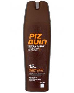 Piz buin ultra light hydrating sun spray SPF15 medium 200ml
