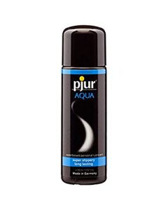 Pjur aqua water-based personal lubricant super slippery long lasting 250ml