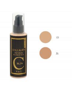 Privia collagen premium foundation 4 in 1 SPF30 #21 100ml