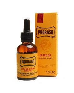 Proraso beard oil smooth and protect 30ml