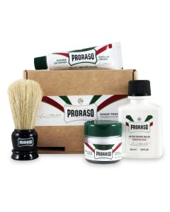 Proraso shave travel kit 4 produkter