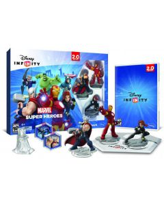 Ps3 disney infinity play without limits 2.0 startpakke marvel super heroes