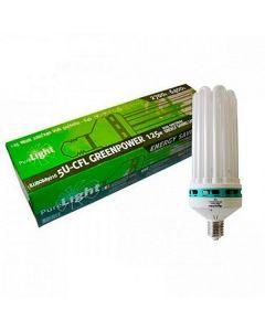 Purelight dual spectrum energy saving lamp 5U-CFL greenpower 125W E40