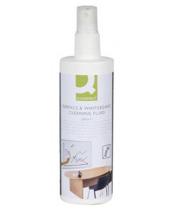 Q-connect surface & whiteboard cleaning fluid 250ml