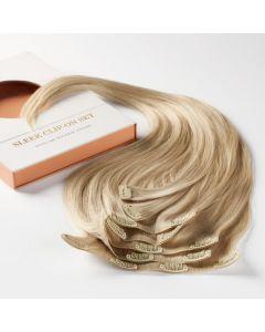 Rapunzel of sweden sleek hairband by kenza 10.7 light grey 50cm