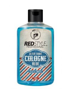 Red style professional after shave cologne blue relax & comfort 250ml