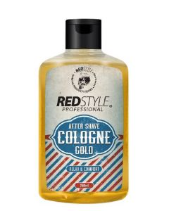 Red style professional after shave cologne gold relax & comfort 250ml