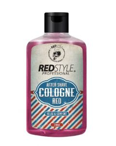 Red style professional after shave cologne red relax & comfort 250ml