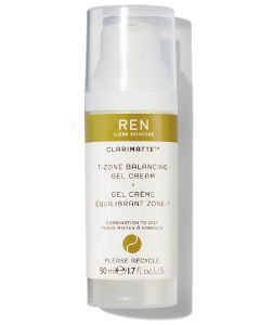 REN clean skincare clarimatte t-zone balancing gel cream 50ml