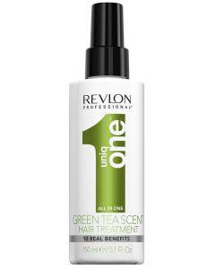 Revlon professional uniq one green tea scent hair treatment 10 real benefits 150ml