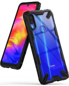 Ringke fusion X hybrid cover black for xiaomi redmi note 7
