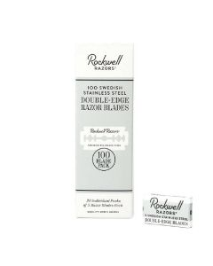 Rockwell razors 100 swedish stainless steel double-edge razor blades