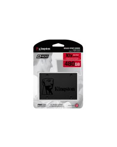 "Kingston SSDNow A400 - SSD harddisk - 480 GB - intern - 2.5"" - SATA 6Gb/s"