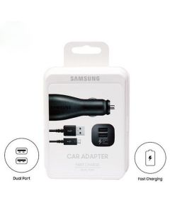 Samsung car adapter fast charge dual port