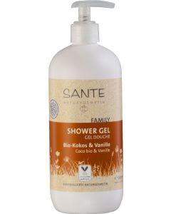 Sante naturkosmetik family shower gel bio coconut & vanilla 950ml