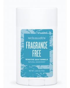 Schmidt's fragrance free sensitive skin formula natural deodorant 75g