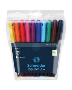 Schneider topliner 967 fineliner 0,4mm 10 stk.