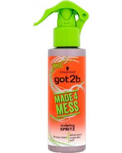 Schwarzkopf got2b made4mess sculpting spritz 150ml