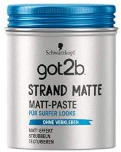Schwarzkopf got2b strand matte matt-paste for surfer looks 100ml