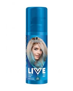 Schwarzkopf live color spray blue twist 120ml
