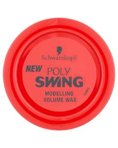 Schwarzkopf poly swing modelling volume wax extra strong 2 75ml