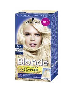 Schwarzkopf professional quality color blonde
