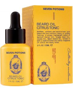 Seven potions beard oil citrus tonic 30ml