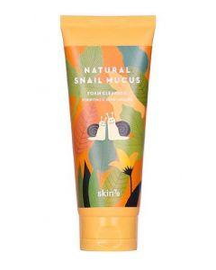 Skin79 natural snail mucus foam cleanser purifying & moisturizing 150ml