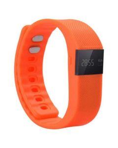 Smart bracelet just run just with me orange