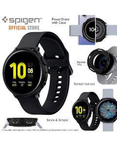 Spigen case for watch 44mm matte black for samsung galaxy watch active2
