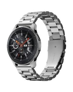 Spigen galaxy watch modern fit sølv rem 46mm for samsung galaxy