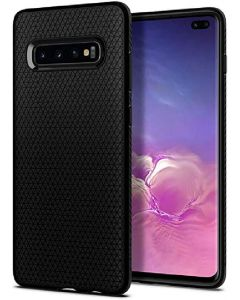 Spigen smartphone case matte black for galaxy S10e
