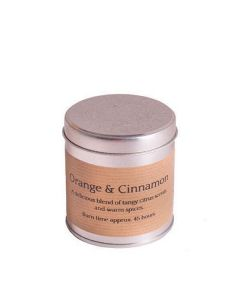 ST. eval candle company orange & cinnamon