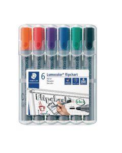 Staedtler lumocolor flipchart marker 6 stk.
