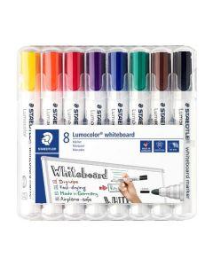 Staedtler lumocolor whiteboard marker 8 stk.
