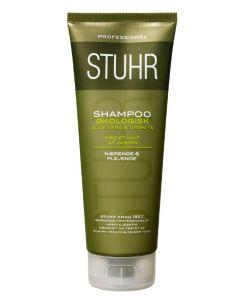 Stuhr shampoo økologisk aloe vera & grøn te med et hint af jasmin 200ml