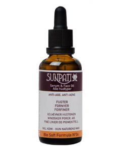 Sunpati serum & face oil alle hudtyper 50ml