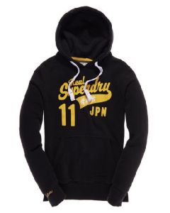 Superdry Hoodie Swoosh (ms2fa303) i Blå Str. Medium