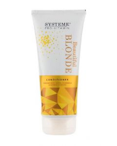 Systeme pro-vitamin beautiful blonde conditioner 200ml